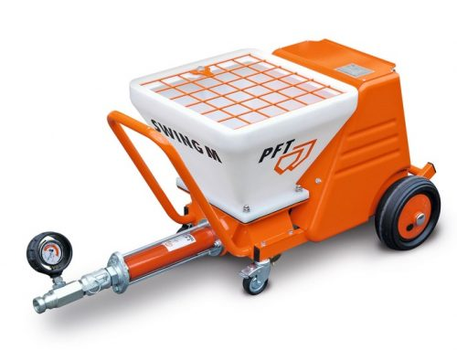 The PFT Swing M Conveying Pumps