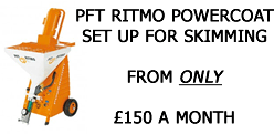 PFT Plastering Machine Special Offer