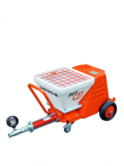 PFT Swing m plastering machine