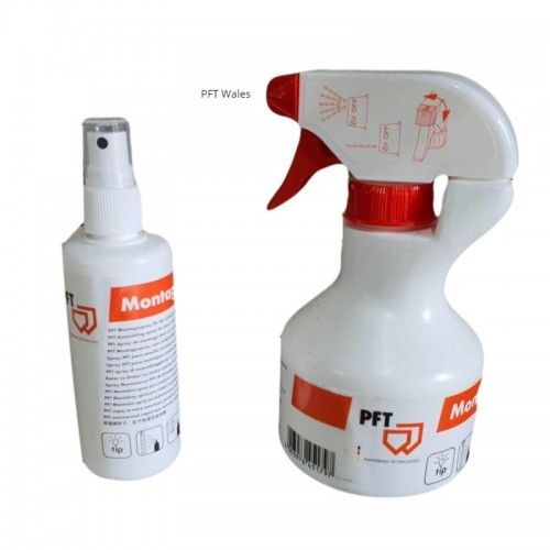 lubricating spray for rotor stator assembly