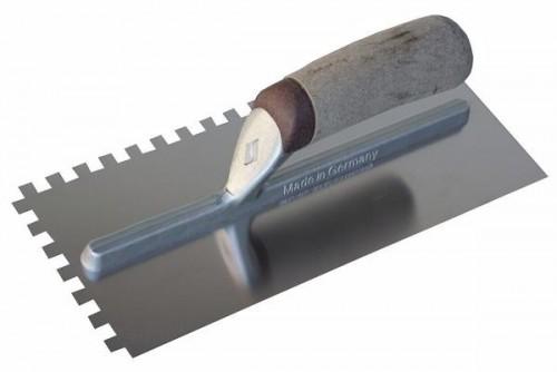stainless steel tiling trowel