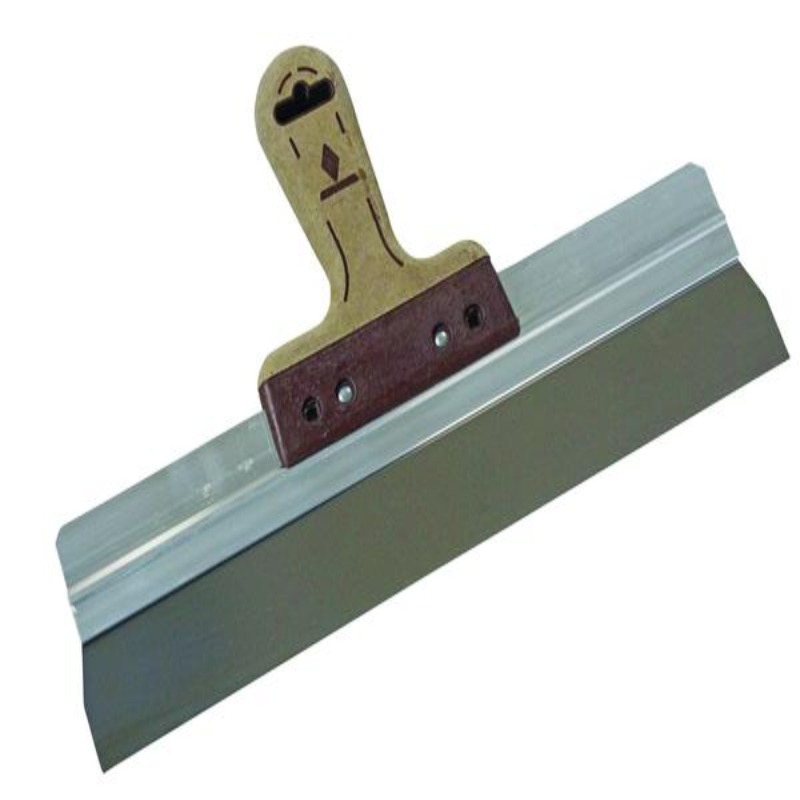 skimming spatula leather handle