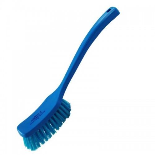 big blue cleaning brush