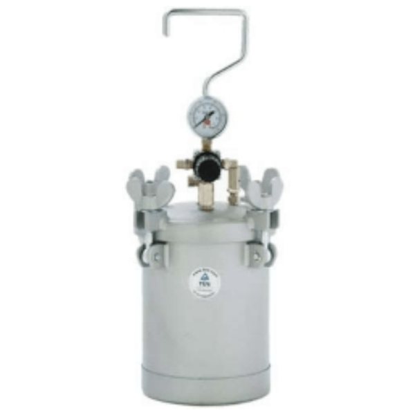 4 LTR INJECTION RESIN POT AIR POWERED 3 BAR
