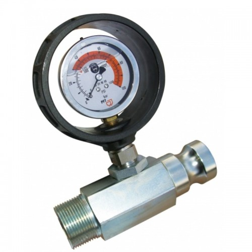 Material outlet pressure guage g4