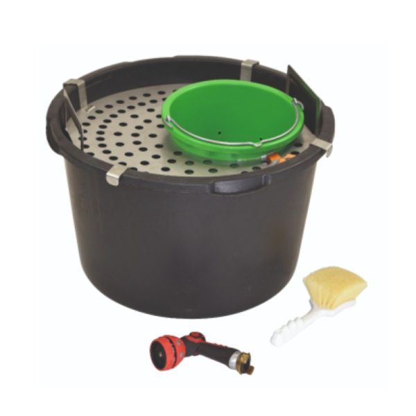 pft cleaning set with drainage