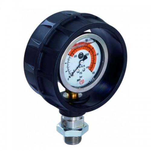 pressure gauge plastic housing