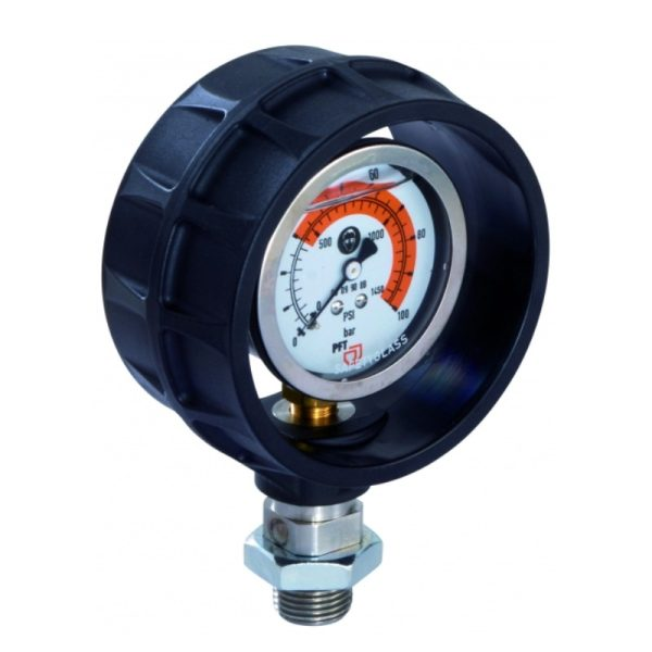 pressure gauge plastic housing