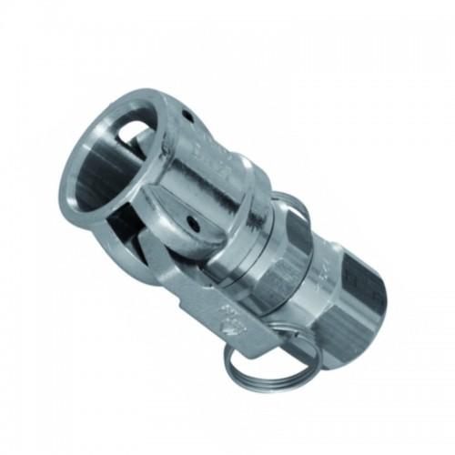 turnable coupling spray gun