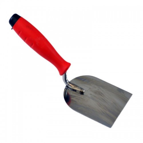 Rubber handle spatula trowel