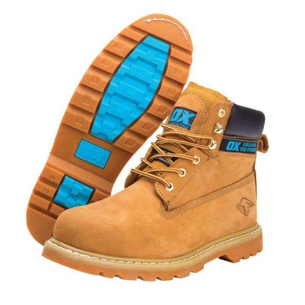 OX NUBUCK SAFETY BOOTS