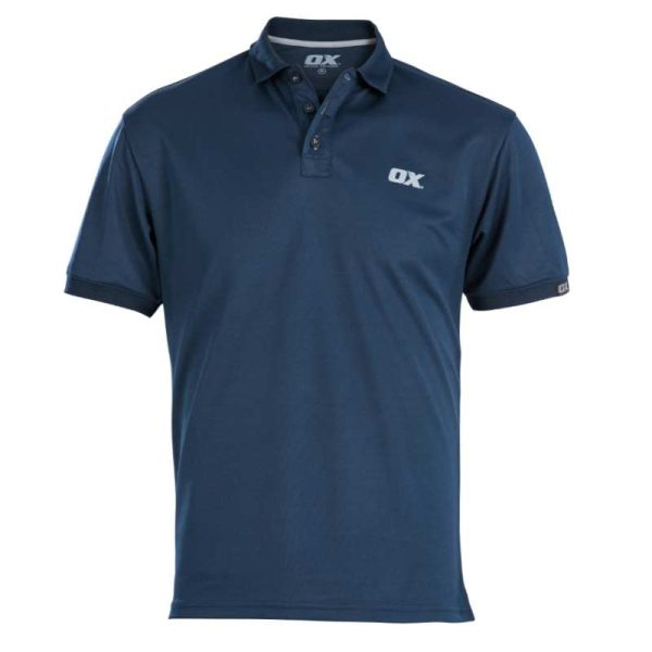 ox navy polo shirt