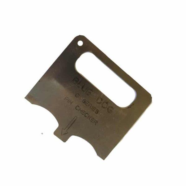 pressure flange pin checker