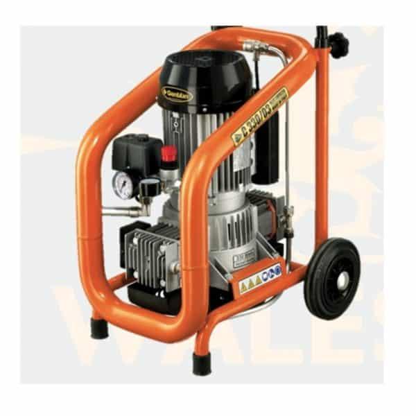 Plastering Machine gentilin-compressor